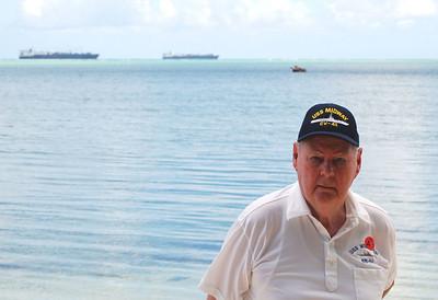 Clem on Saipan Beach
