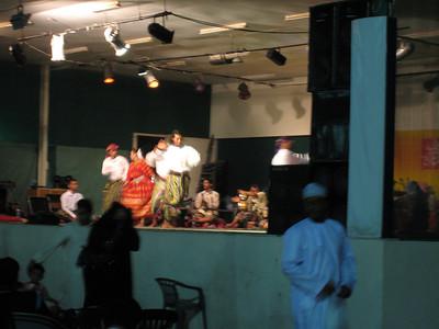 Omani dance troupe.