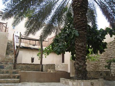 Interior courtyard at Taqa