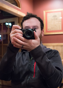 Michael trying out my Sony FE 2.8/35mm ZA lens
