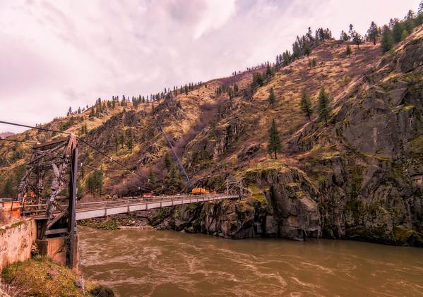 The Manning Crevice bridge.