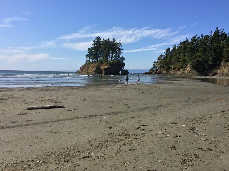 Crescent Bay, from Salt Creek