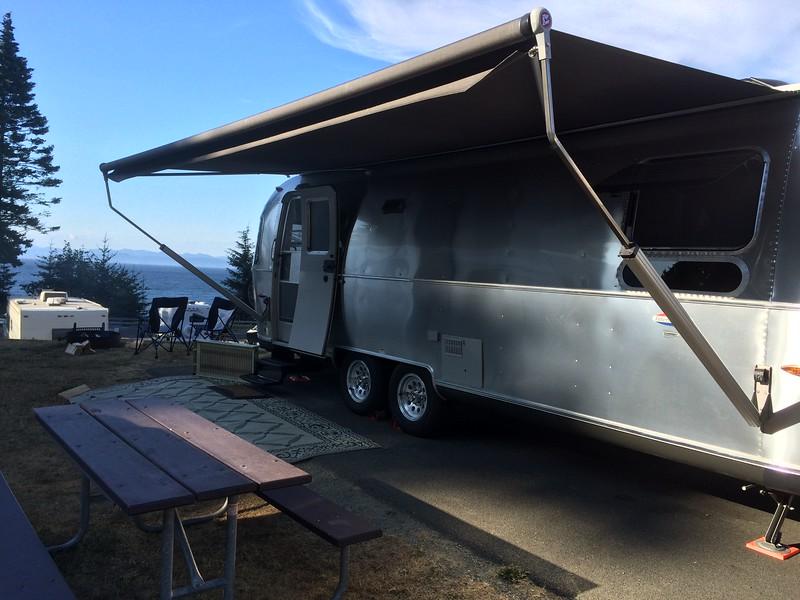 Campsite #27 at Salt Creek Recreation Area