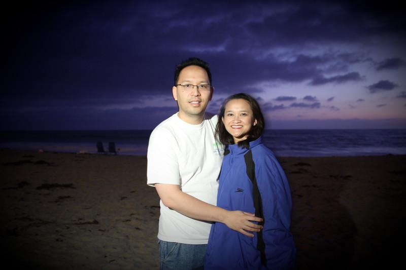 Vu and Catherine at Salt Creek