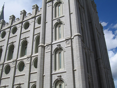 Salt Lake Temple. 8 Apr 2007
