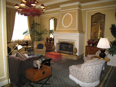 Lobby, Hotel Monaco, Salt Lake City, UT. 8 Apr 2007