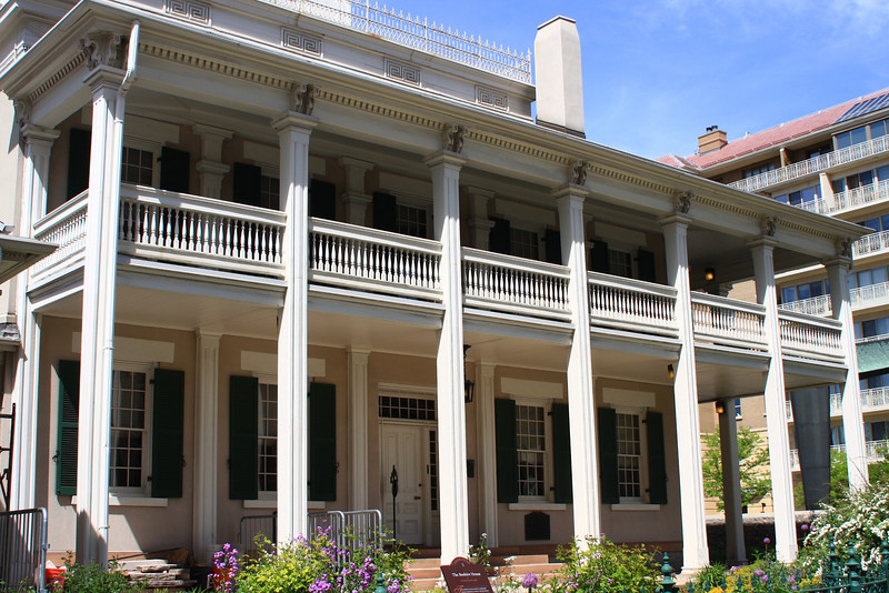 Beehive House - Built in 1854 and served as home to Brigham Young when he was President of The Church of Jesus Christ of Latter-Day Saints and governor of the Utah Territory