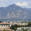 View of the mountain in Salt Lake, Utah.