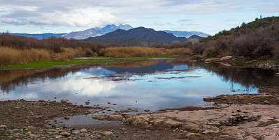 Mountain_River_ reflection Salt River 7259