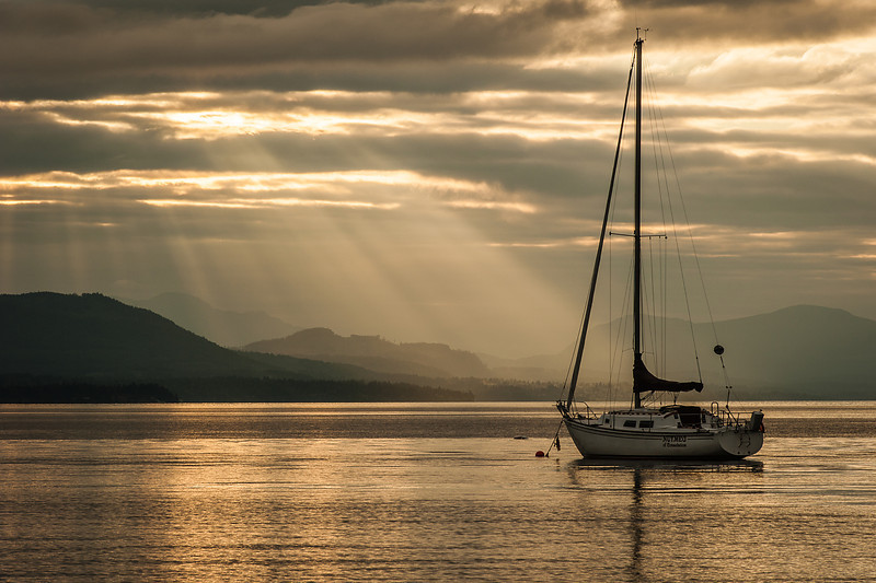 Sometimes you need to anchor your boat in order to be enlightened.