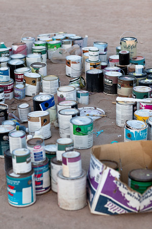 Donated paint.