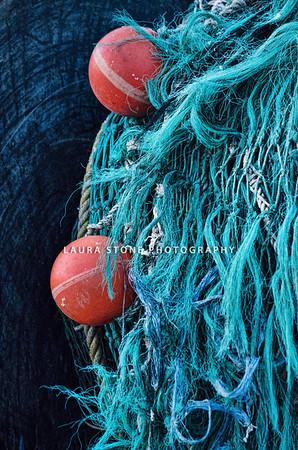 Fishing net, Stonington, Connecticut