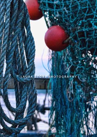Fishing Nets, Stonington, Connecticut
