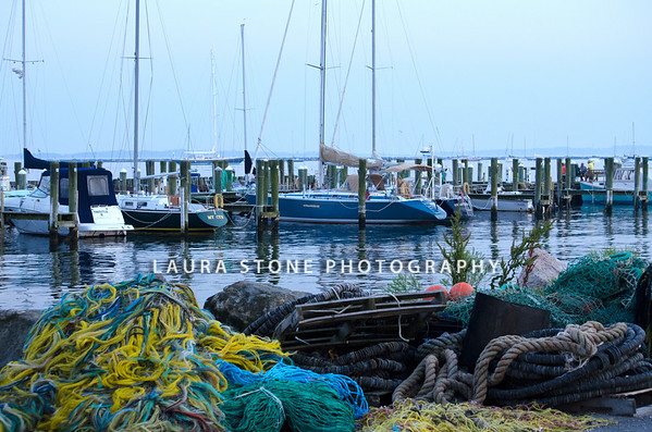 Docks at Stonington, Connecticut