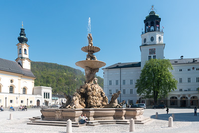 Mozartplatz & Mozart Monument. The square is dominated by the statue of Mozart by Ludwig Schwanthaler, ceremoniously unveiled on September 5, 1842 in the presence of Mozart's sons
