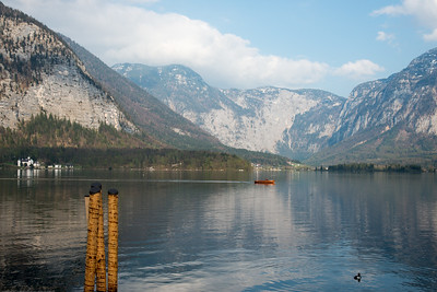 Hallstatt, Upper Austria, is a village in the Salzkammergut, a region in Austria. It is located near the Hallstätter See.
