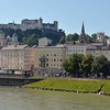 Hohensalzburg Fortress.  Salzburg is the birthplace of Wolfgang Amadeus Mozart.