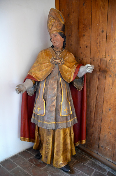Touring the fortress museum.  One of the many arch-bishops that were also Princes, and ruled over the town.