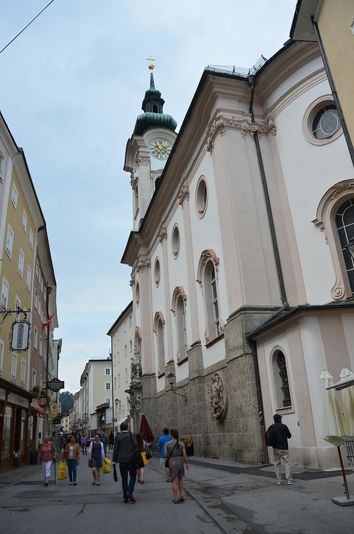 Welcome to Salzburg, austria....home to Sound of Music lore, and Mozart's birthplace.  Quite a fun little city!