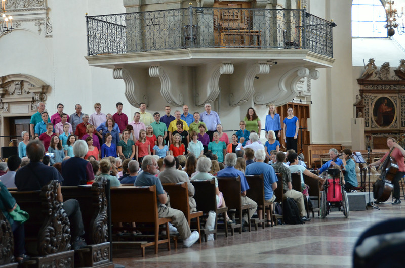 WE were treated to a choral concert while we were there...inside the cathedral it sounded awesome!