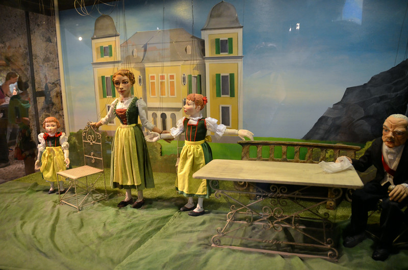 Sound of Music puppets.