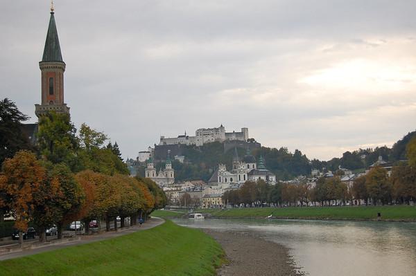 Salzburg and Cesky Krumlov