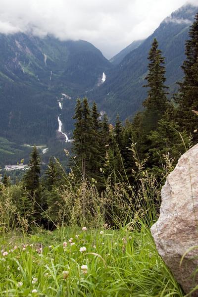 Krimmler Wasserfälle from a distance