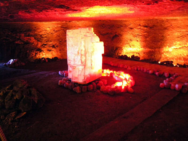 Salt mine art.