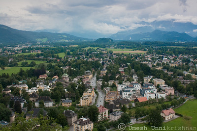 View from the Hohensalzburg