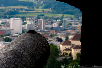 Cannon from the Hohensalzburg