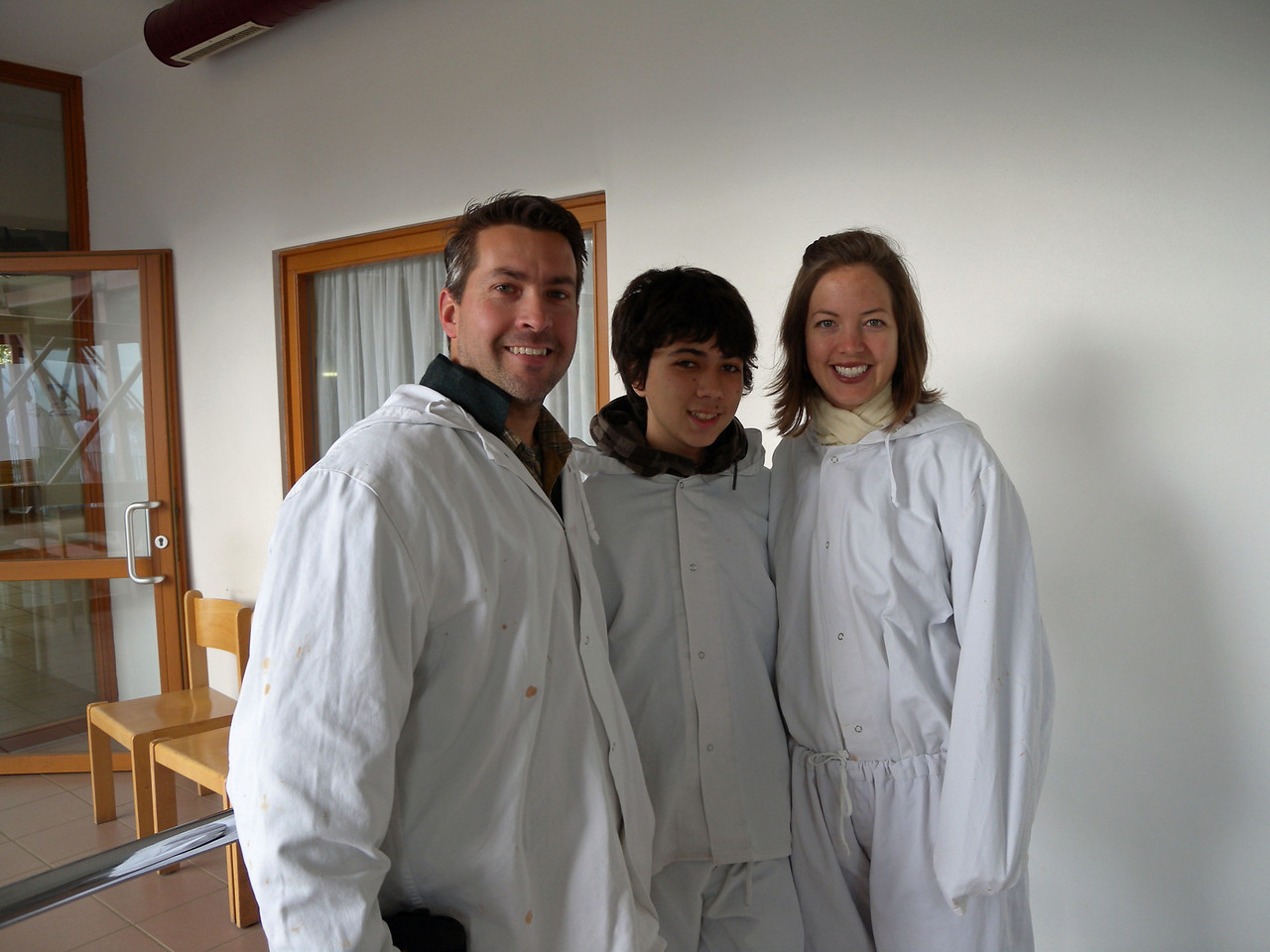 Salzburg means Salt town. And so we had to go to the Salt mine! They made us wear these pajamas. Sehr gut = very niiiiice