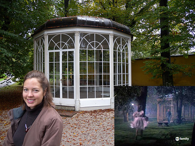 The Gazebo! They don't let you inside anymore after an elderly lady tried to skip across the benches and broke her hip.