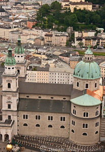 Cathedral from the Hohensalzburg