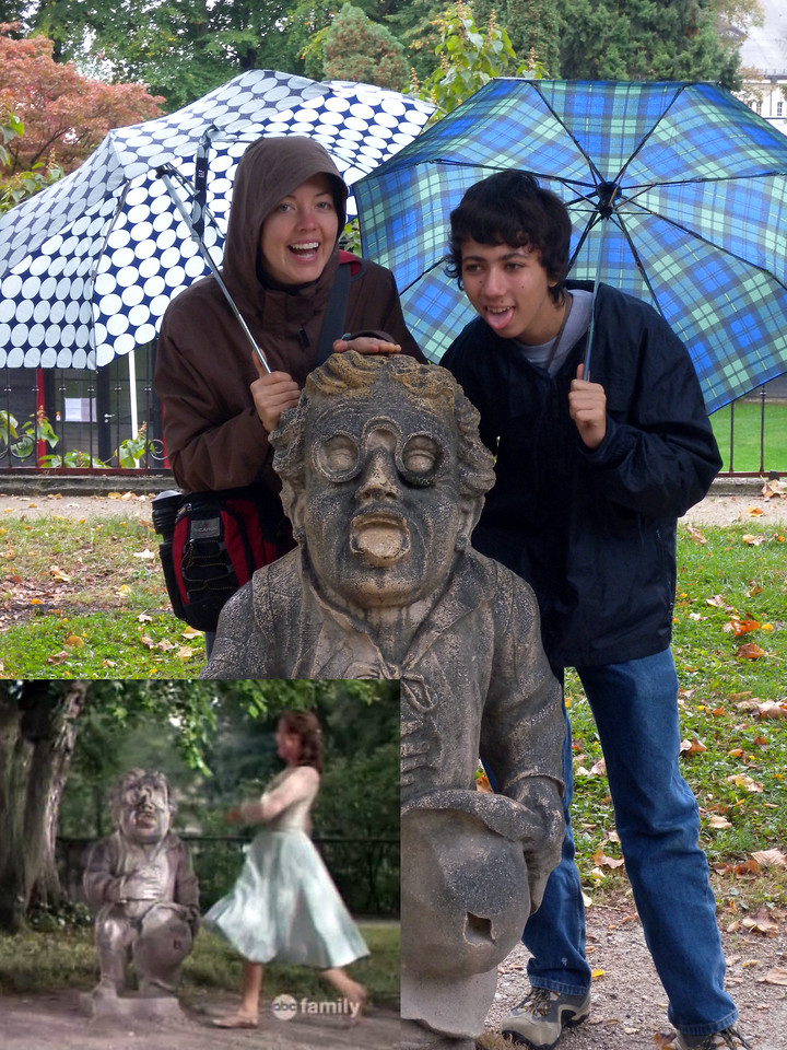 Mirabell Gardens - Tap the dwarf on the head!