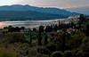 Looking west over Vathy towards Mount Karvounis (1,153m), Samos, Greece, 25 December 2008
