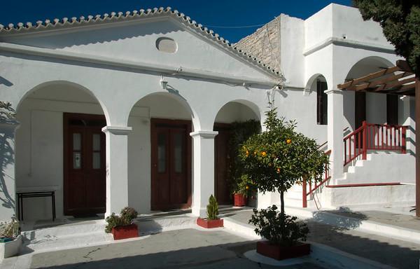 Spillanis Monastery, Pythagorio, Samos, Greece, 31 December 2008 1