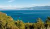 Looking east towards Turkey from near Myrtia, Samos, Greece, 25 December 2008