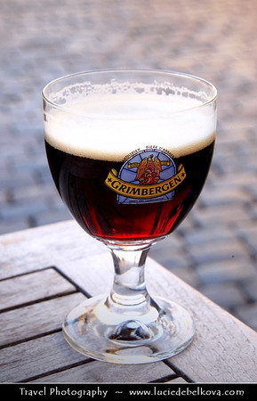 Belgium - Brussels - Bruxelles - Brussel - Beer in Belgium - Varies from the popular pale lager to lambic beer and Flemish red. Belgian beer-brewing's origins go back to the Middle Ages.