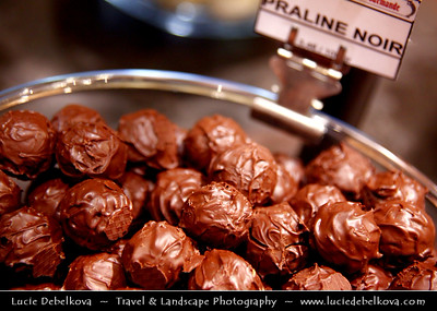 Belgium - Brussels - Bruxelles - Brussel - Belgian Chocolate - Deep culinary tradition dating back to the 19th century
