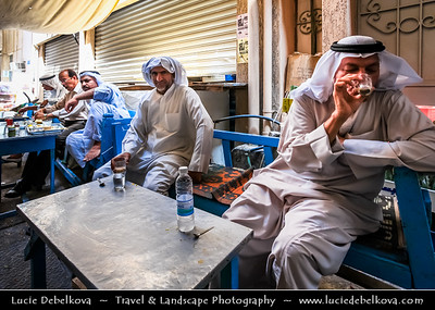 Middle East - GCC - Bahrain - Manama - Gold Souq - Traditional Bahraini Market with shops and restaurants in Heart of Old Manama