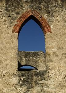 Window at San Jose Mission