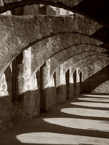 Archway at San Jose Mission