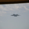 A C-17 did a low, slow flyover.  Amazing skill to keep something that big moving so slow in the sky.