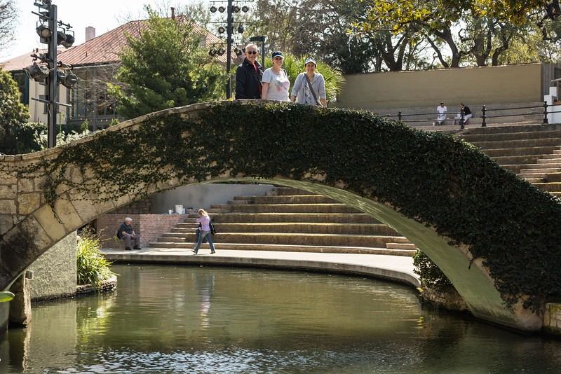 Bridge over the San Antonio River