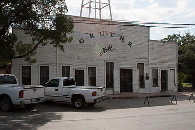 Historic Gruene Hall - Texas' oldest Dance Hall - over 130 years old!