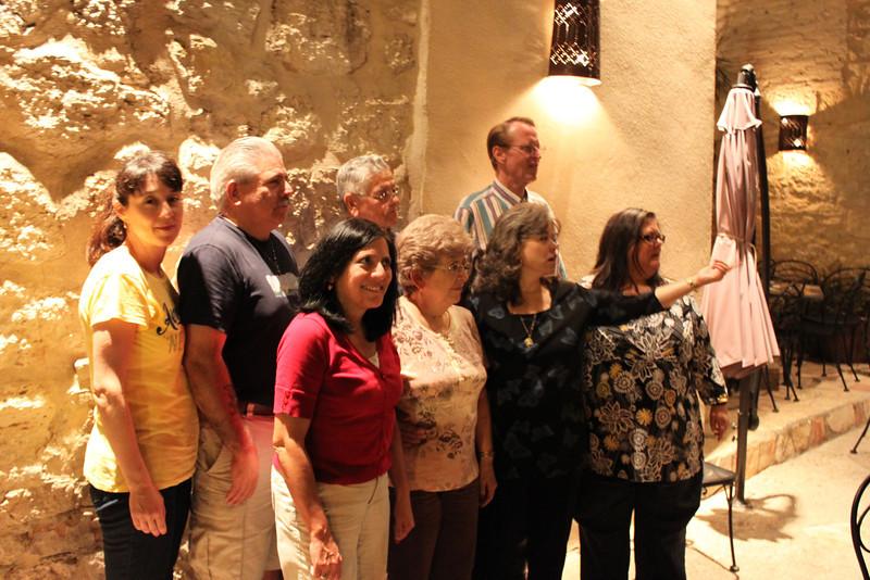 Demetria, Dennis, Uncle Charlie, Sam, Jo-Ann, Aunt Marie, Barbara, & Bonnie