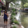 Tish by the San Antonio Riverwalk