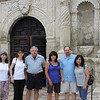 Jen, Demetria, Dennis, Tish, Rob & Jo-Ann at the Alamo