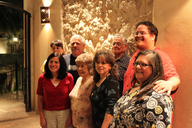 Demetria, Dennis, Uncle Charlie, Jason, Jo-Ann, Aunt Marie, Barbara & Bonnie