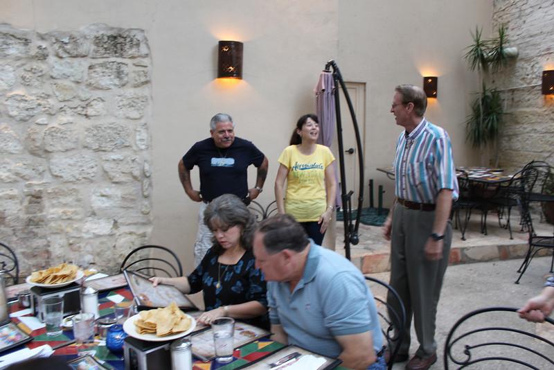 Den, Demetria, Sam, Barbara and Hal.  The Mexican Manhattan